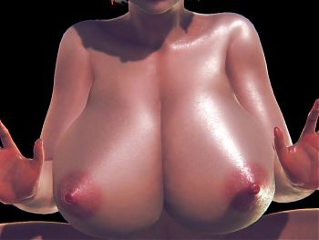 3d CG animation sex Big tits
