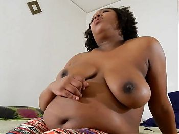Short BBW with huuuuge belly