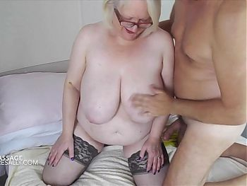Sally meets her lover for an oily massage