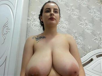 Outstanding huge breasts