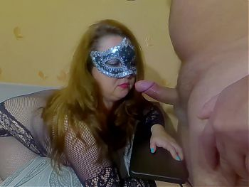 I gave a blowjob and my mouth was filled with warm cum