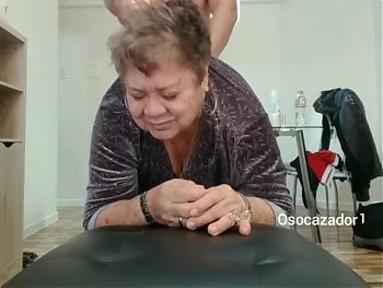 80YO GRANDMA LOUISE FUCKING WITH HER STEPSON. ORGASM, FACIAL BB
